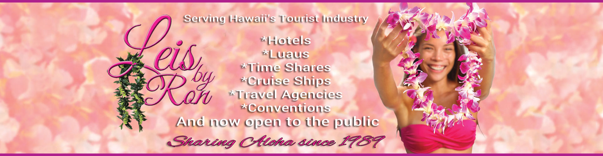 Hawaii's Largest Supplier of Leis!
